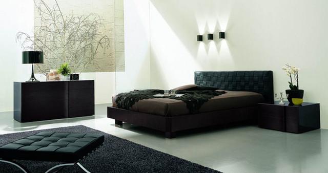 Made In Italy Leather Designer Bedroom Sets Modern Bedroom Furniture Sets