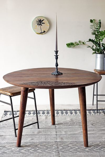 The eden table collection beautiful round dining table for Beautiful round kitchen tables