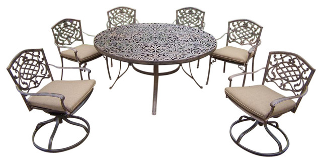 pc round patio dining set contemporary patio furniture and outdoor