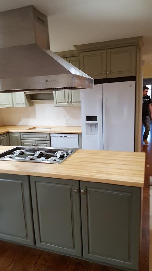 maple butcher block counter tops