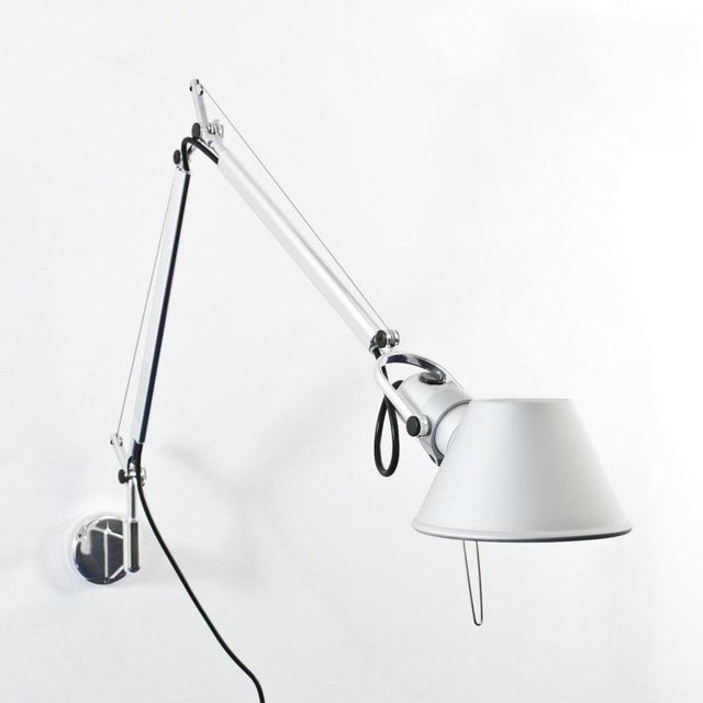 tolomeo mini led wandleuchte bauhaus look wandleuchten. Black Bedroom Furniture Sets. Home Design Ideas