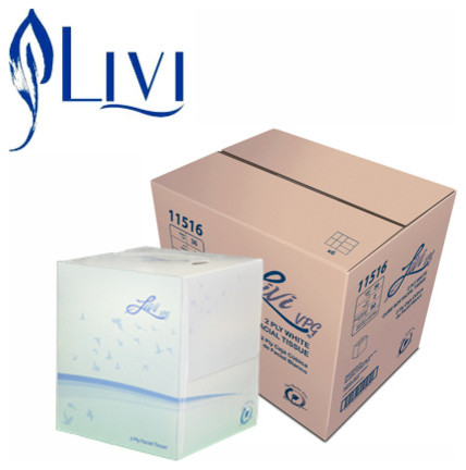 Livi Cube Facial Tissue - Modern - orange county - by Mobile Janitorial Supply
