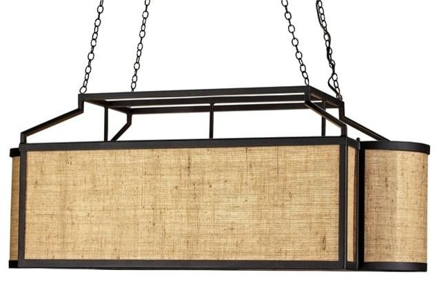 currey company wiggins rectangular chandelier rustic kitchen island lighting new york. Black Bedroom Furniture Sets. Home Design Ideas