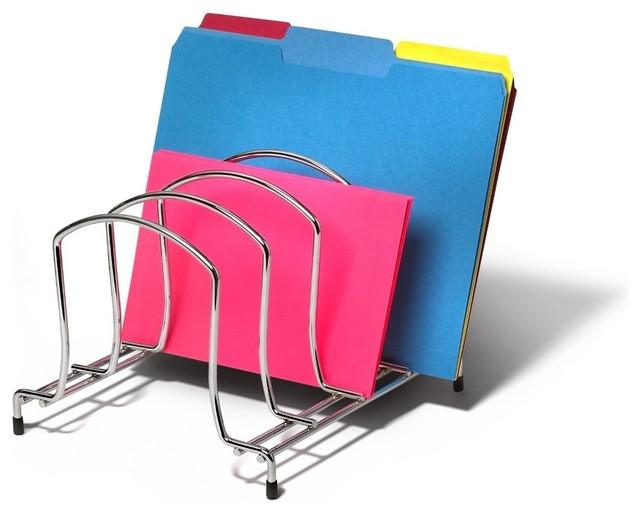 Wire organizer modern desk accessories by - Modern desk accessories and organizers ...