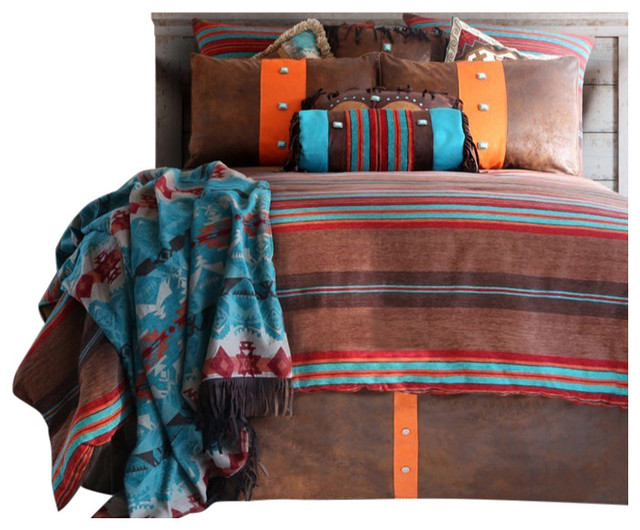 Canyon View Bedding Set Southwestern Bedroom Furniture