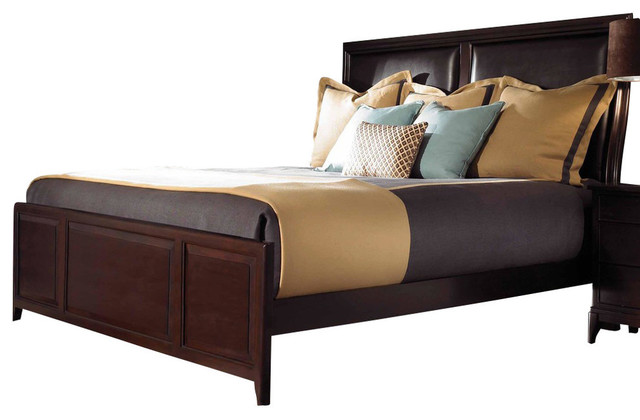 Kincaid Alston Solid Wood Queen Low Profile Platform Bed Furniture By Bedroom Furniture