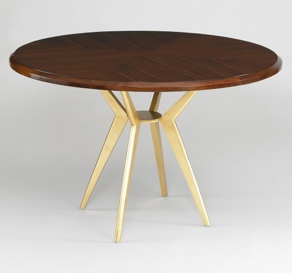 Axel Round Dining Table Contemporary Dining Tables By DwellStudio