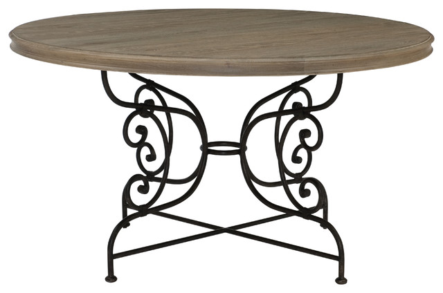Bernhardt Auberge Round Dining Table Mediterranean  : mediterranean dining tables from houzz.com size 640 x 424 jpeg 47kB