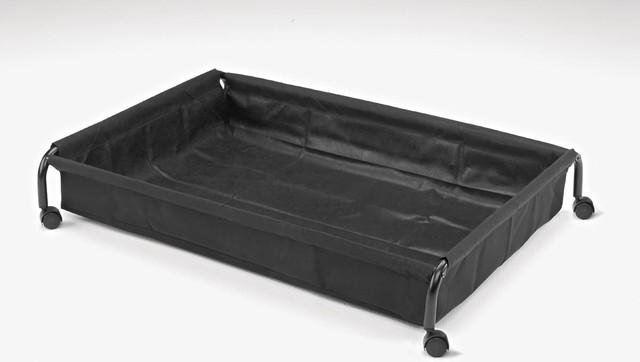 rollo bettkasten bauhaus look futons von wohnstation. Black Bedroom Furniture Sets. Home Design Ideas
