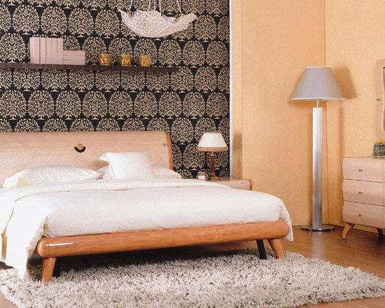 exclusive wood design bedroom furniture modern decor multi toned