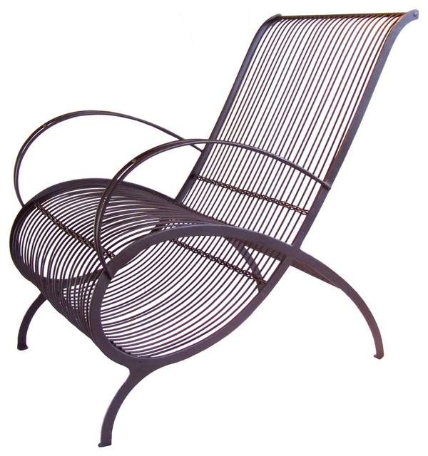 Caporali Ghiro Chair Contemporary Outdoor Lounge Chairs by TUSCAN HILLS