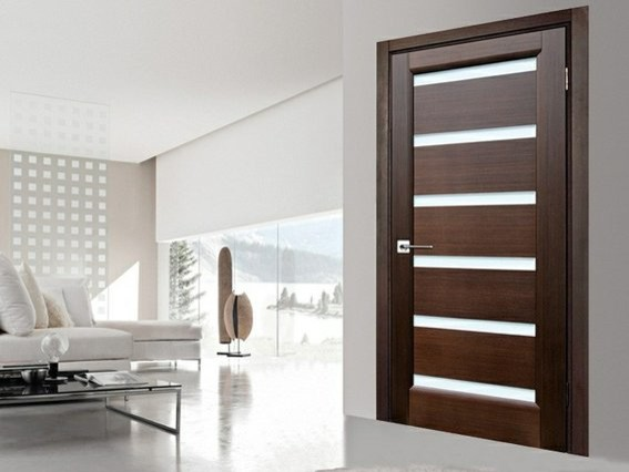 Flush door modern living room other by dayoris for Living room door designs