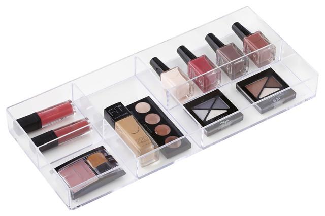 Neatnix cosmetic stax foundation storage organizer tray for Bathroom tray organizer