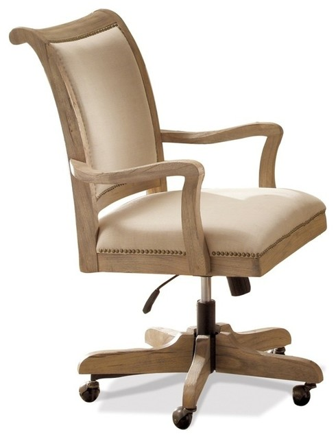 coventry upholstered desk chair contemporary office