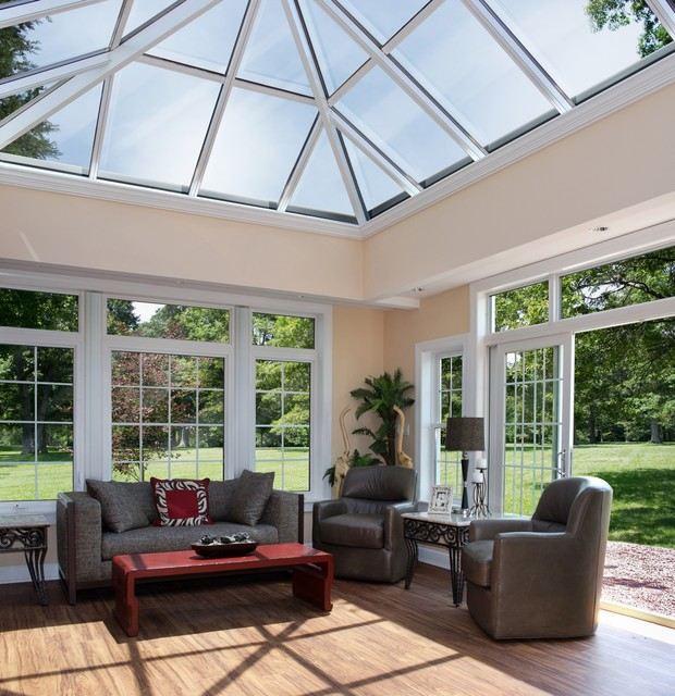 Atrium sunroom addition for Sun room additions