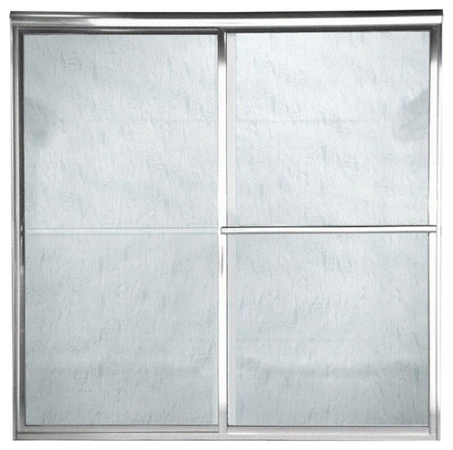 """... Glass, 48""""Wx71.5""""H - Traditional - Shower Doors - by Amplified E-Store"""