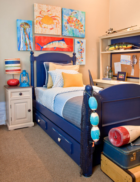 Modern Ocean Themed Boy 39 S Room Modern Bedroom Other