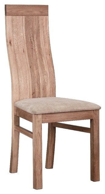 Chaise ecolo summer en ch ne massif contemporary dining chairs by inside75 - Chaises chene massif ...
