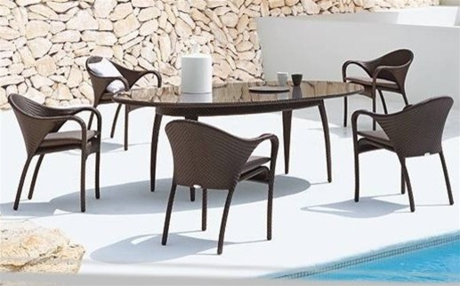pieced patio dining set modern patio furniture and outdoor furniture