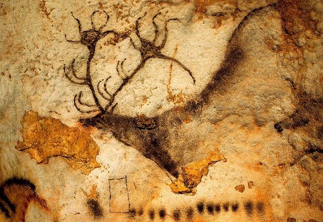 Prehistoric Art At Lascaux Caves Wallpaper Wall Mural