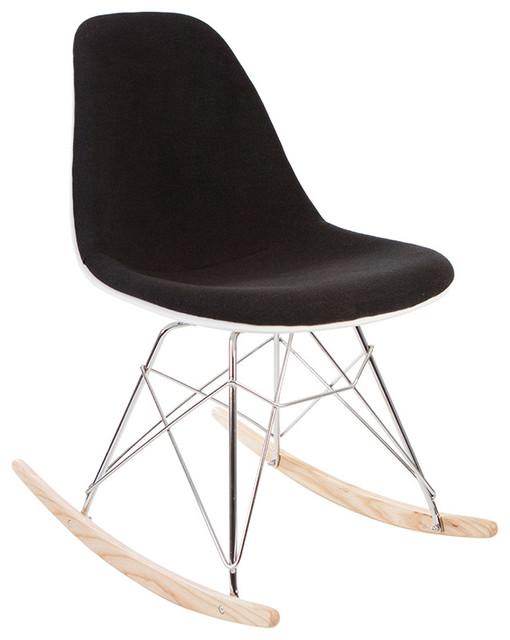 High Quality Mid Century Retro Rsr Rocking Side Chair