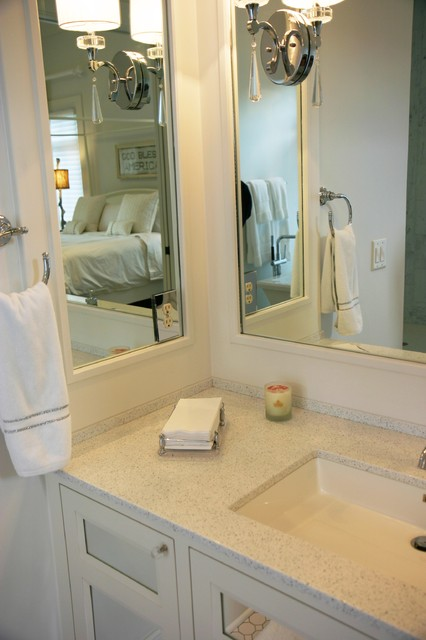 North Side Residence Contemporary Bathroom Indianapolis By Cornerstone Interiors