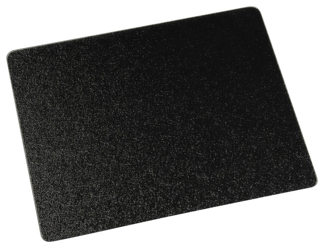 20 x16 surface saver tempered glass black cutting boards by vance industries inc - Decorative tempered glass cutting boards ...
