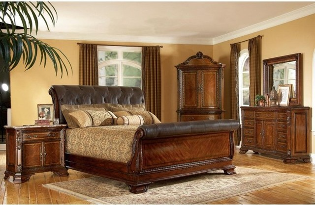 king sleigh bed sets 2
