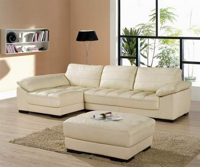 Sophisticated All Italian Leather Sectional Sofa modern sectional sofas miami