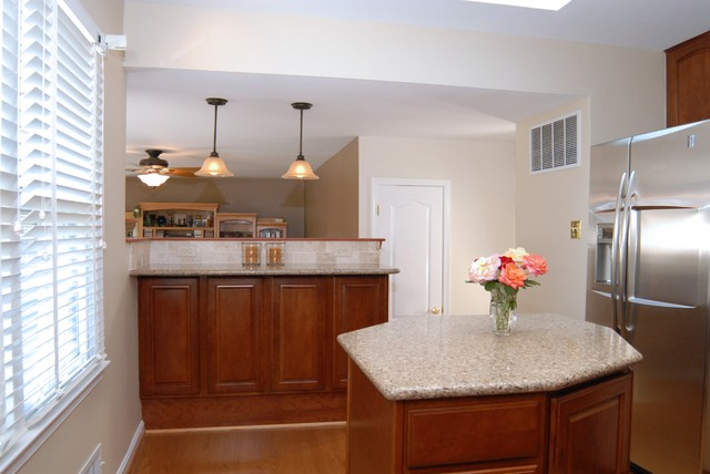 Kitchen Remodel Springfield Va Traditional Kitchen Other Metro By Rendon Remodeling