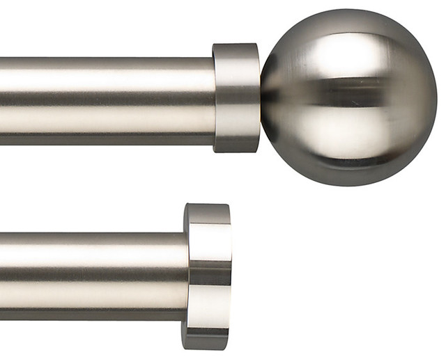 stainless steel curtain pole range modern