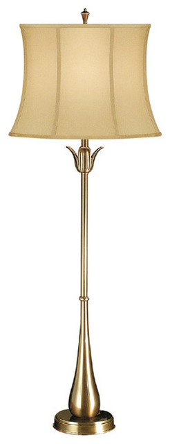Tulip Console Lamp Brass