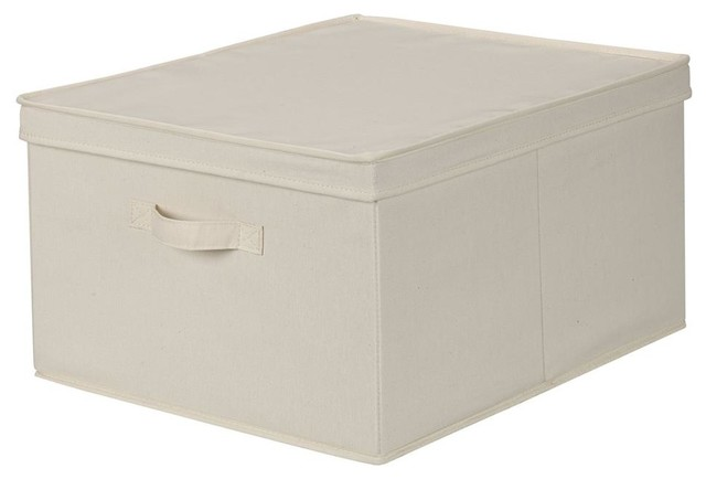 Storage Box with Lid - Contemporary - Storage Bins And Boxes - by ShopLadder