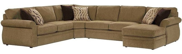 Broyhill veronica sectional with raf chaise 6170 3qset for Broyhill chaise