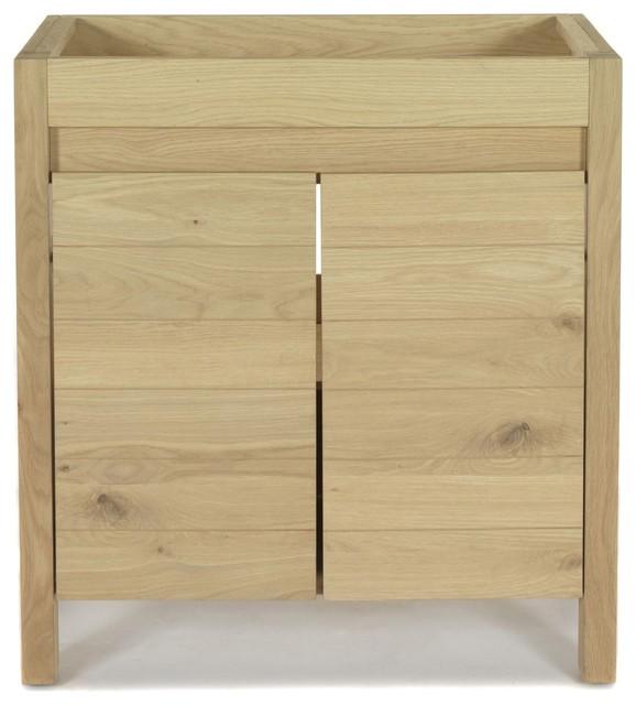 Native meuble sous vasque en ch ne campagne console et for Alinea meuble et deco