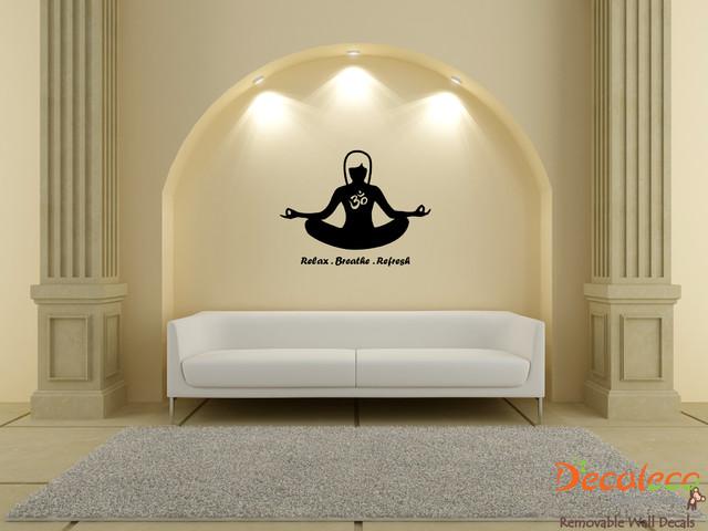 Yoga Asian Wall Decal (SKU 020) asian-wall-decals