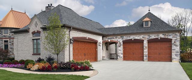 ... Doors with Ultra Grain Finish contemporary-garage-doors-and-openers