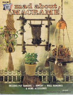 ... 1975 Macrame Instruction Book Mad About Macrame - Books - by eBay