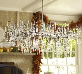 Lucinda Branch Chandelier Eclectic Chandeliers By