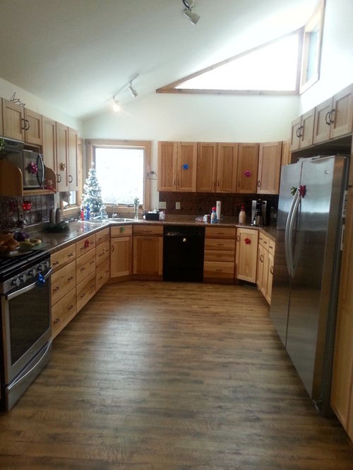 Cant Decide On Color Of Kitchen Floor