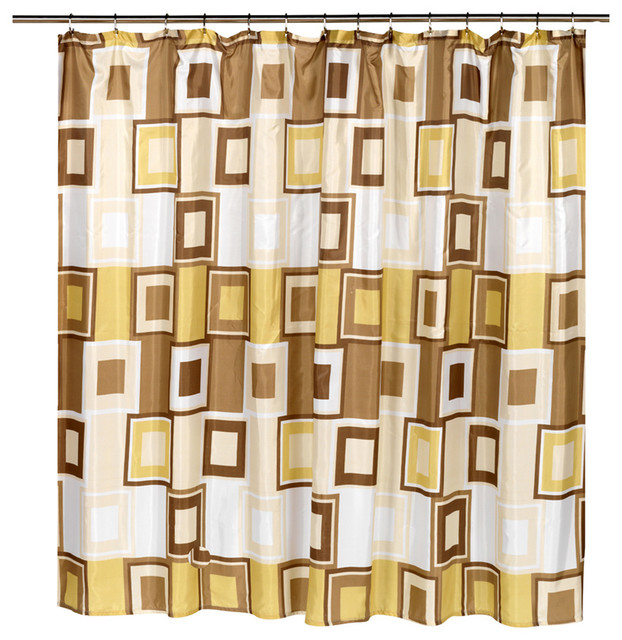 Carnation Home Fashions Extra Wide Contempo Fabric Shower