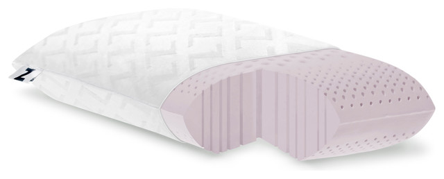 Lavender Infused Memory Foam Pillow - Modern - Bed Pillows - by Mattress Depot USA
