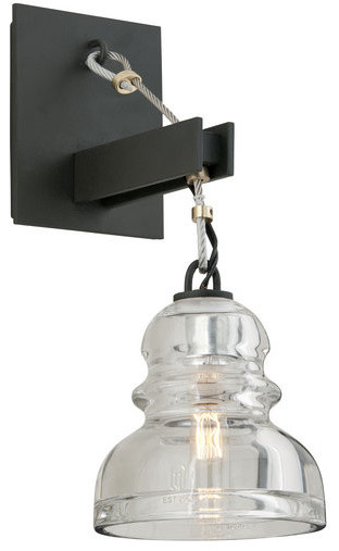 troy lighting b3971 menlo park 1 light wall sconce with