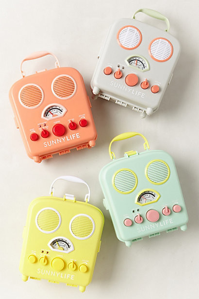 Sunny Life Beach Radio - Contemporary - Home Electronics - by Anthropologie