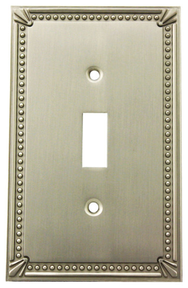 Decorative Wall Outlet Plates : Cosmas decorative wall plates and outlet covers satin