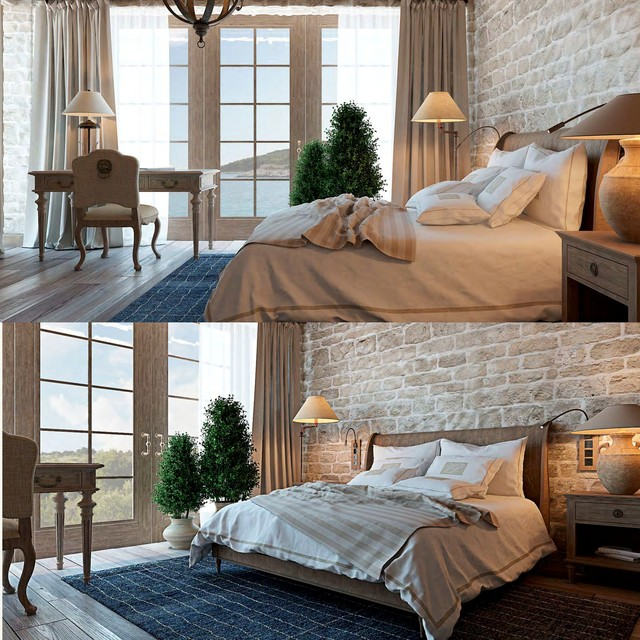 modern apartment beach style bedroom los angeles