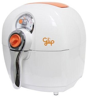 Glip oil less fryer white modern deep fryers Modern home air fryer
