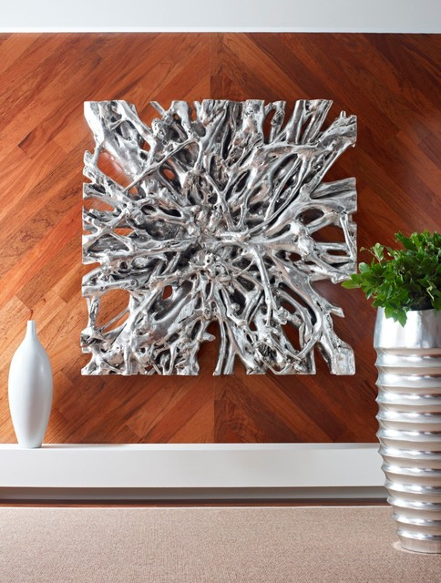 square root wall sculpture contemporain sculpture murale raleigh par phillips collection. Black Bedroom Furniture Sets. Home Design Ideas