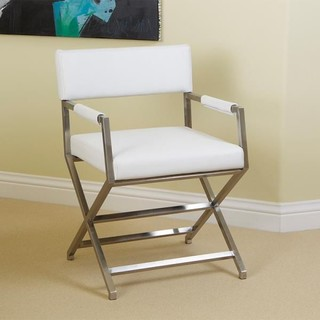 Rocklin White Leather Armchair Modern Armchairs And Accent Chairs Sydne