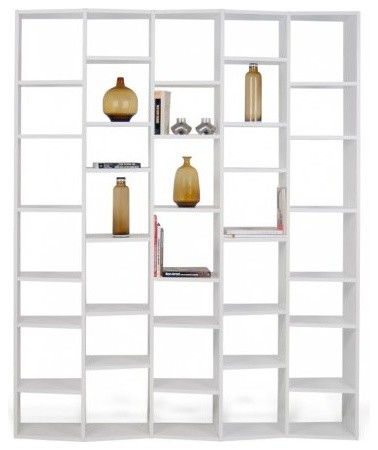 temahome valsa 35 casiers pm biblioth que tag re design laqu e blanc mate contemporain. Black Bedroom Furniture Sets. Home Design Ideas